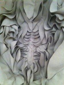 Yiqing Yin pleat design